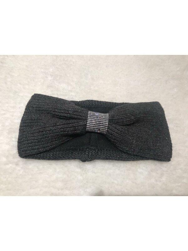 Haarband donker grijs