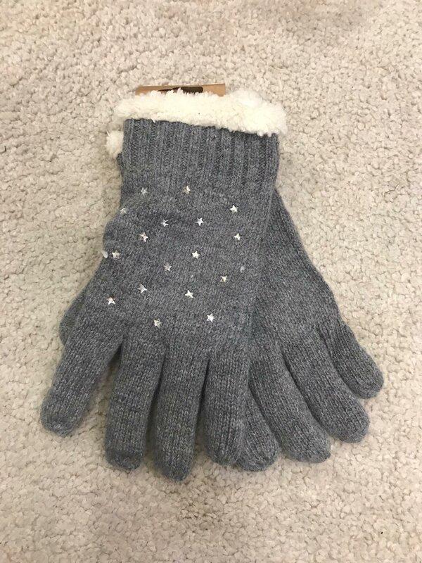Handschoenen donker grijs
