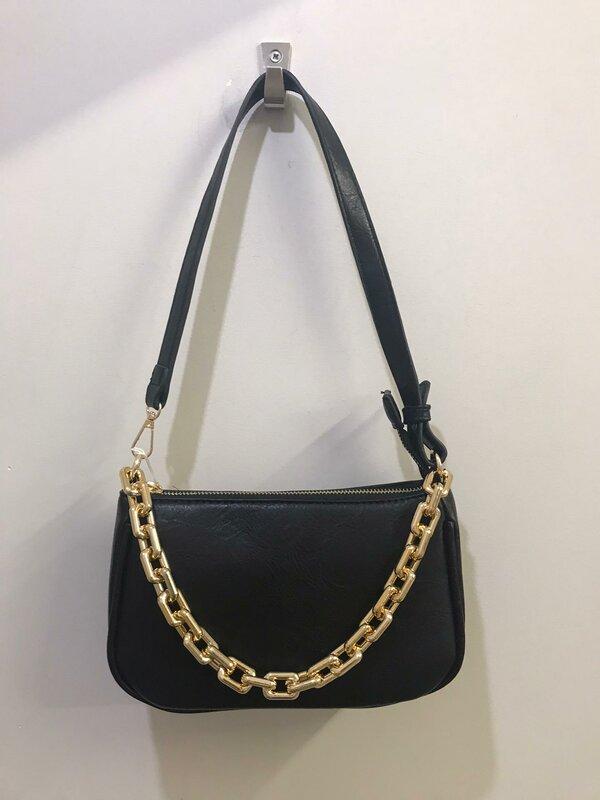 Handtasje in zwarte kleur