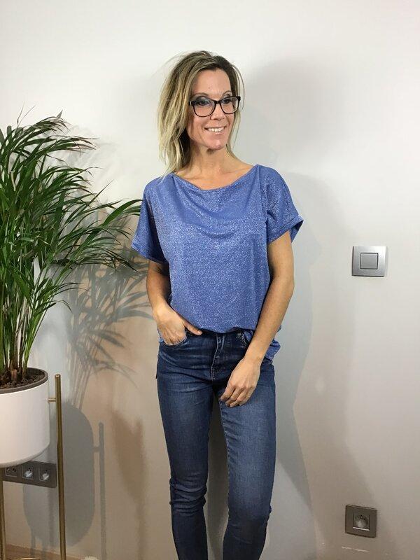 T shirt blauw