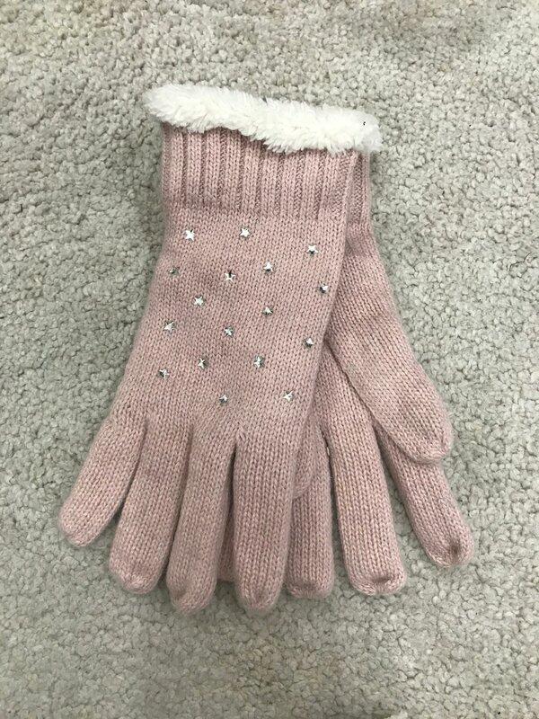 Handschoen roze