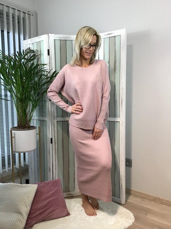 Setje rok en blouse roze kleur