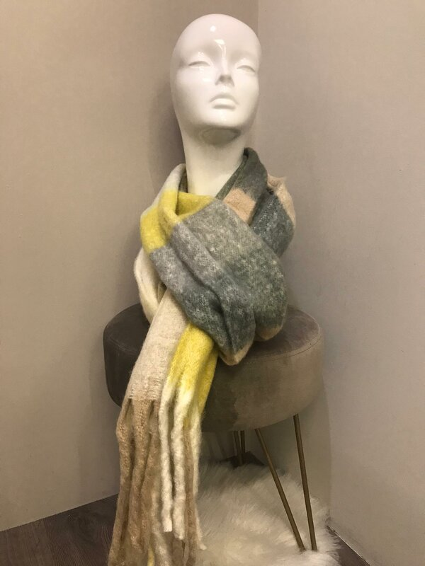 sjaal dik model