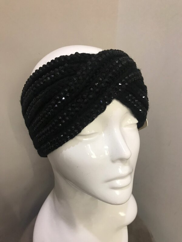 Haarband in zwart
