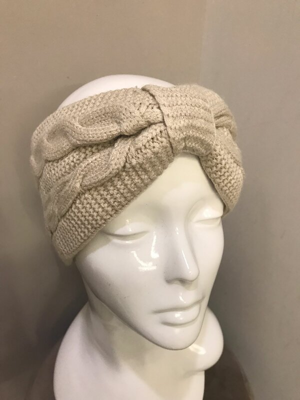 Haarband in beige